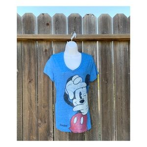 Disney Mickey Mouse with Camera Blue SZ L